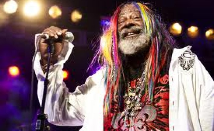 George Clinton Shooting During the Funk