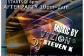 Vyzion Hosts Social Networking Wednesday with DJ Steven K