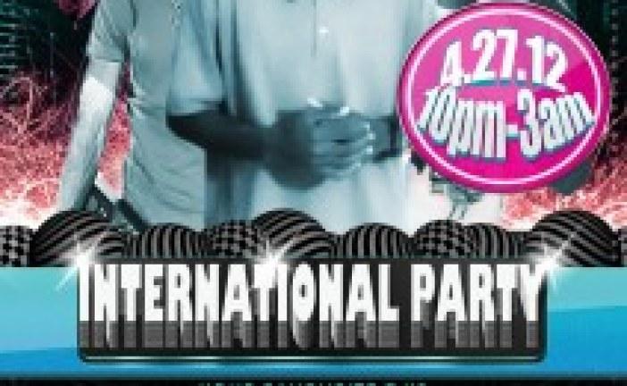 DJ KANE | PRESENTS INTERNATIONAL NIGHT