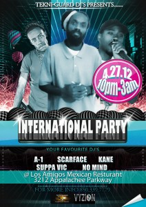 DJ KANE | PRESENTS INTERNATIONAL NIGHT