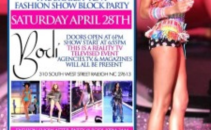 Fashion on South West Fashion Show Block Party| Raleigh Night