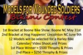 Models Supporting Wounded Soldiers