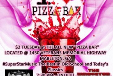 DJ CAPITOL K Atlanta Pizza Bar Event