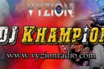 Dj Khampion Joins Vyzion Radio Elite Team