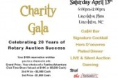 Lincoln County Rotary Auction – 20th Anniversary Charity Gala