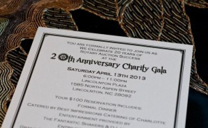 Lincoln County 20th Anniversary Charity Gala – Huge Success