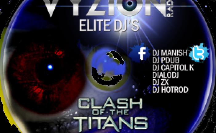 CLASH OF THE TITANS MIXTAPE VOLUME 1