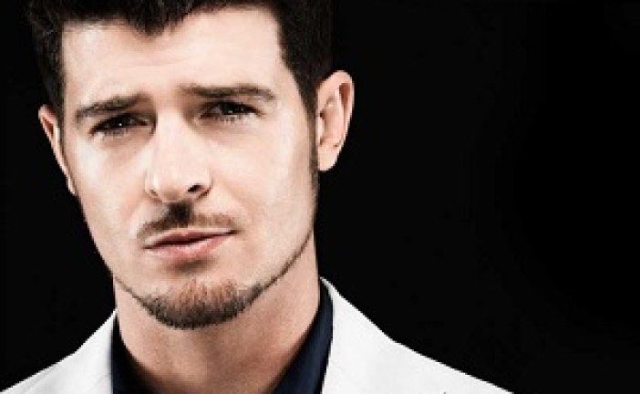 Robin Thicke Settles Marvin Gaye Lawsuit Over Blurred Lines