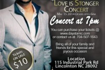Jason Crabb Concert May 15