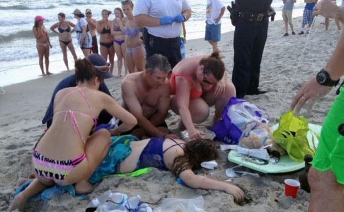 NC Shark Attacks 1 Hour Apart