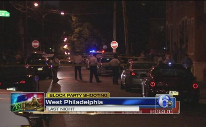 Philadelphia Shootings Injuring 10