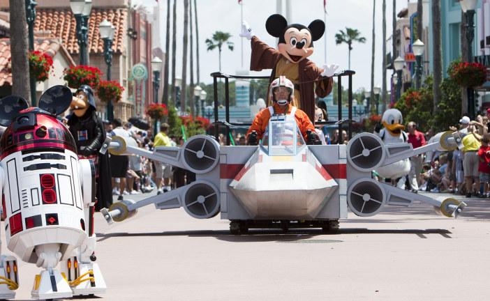 Walt Disney Building Star Wars Theme Parks