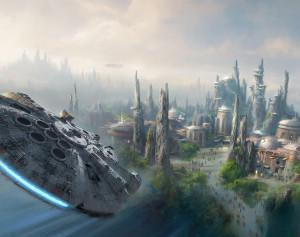Disney starwars park