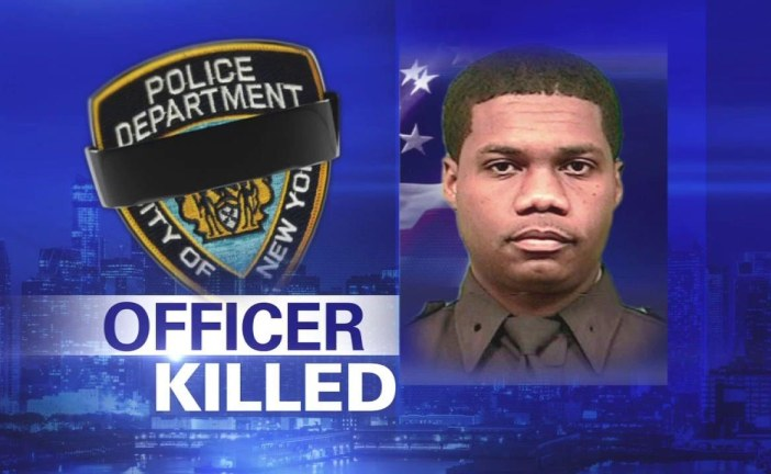 NYPD Police Officer Randolph Holder  Dies After Being Shot
