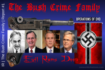 Donald Trump Re-Tweets Jeb Bush Family Swastika Pic