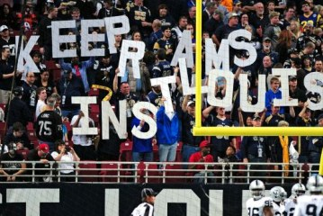 St Louis Rams Making LA NFL Bid to Relocate