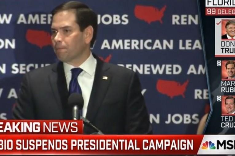 Marco Rubio Suspends Campaign