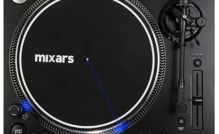 Mixars Realease New LTA High Torque Scratch Turntable