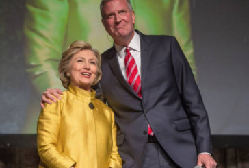Hillary Clinton and NYC Mayor De Blasio make Racial CP Time Joke