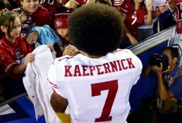 Colin Kaepernick Jersey Sales Skyrocket From Protest