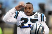 Mike Tolbert Carolina Panther Pro Bowl Fullback Cut