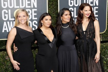Golden Globes Awards Blackout Statement Against Sexual Harassment