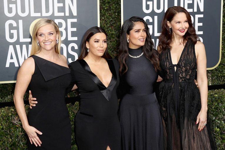 Golden Globes Awards Blackout Statement Against Sexual Harassment